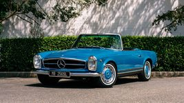 1967 Mercedes Benz 250SL Factory 5-speed