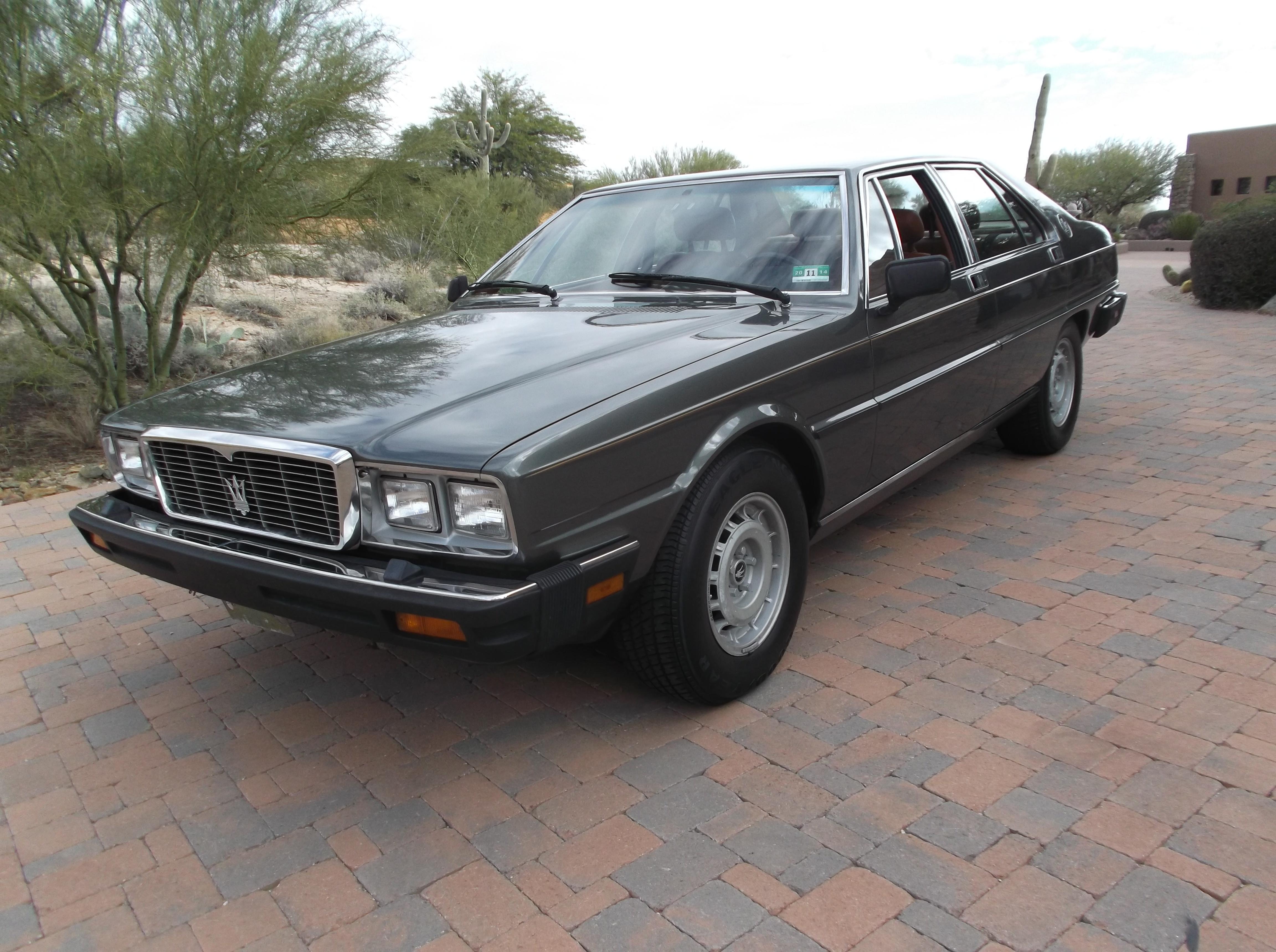 1985 Maserati Quadraporte
