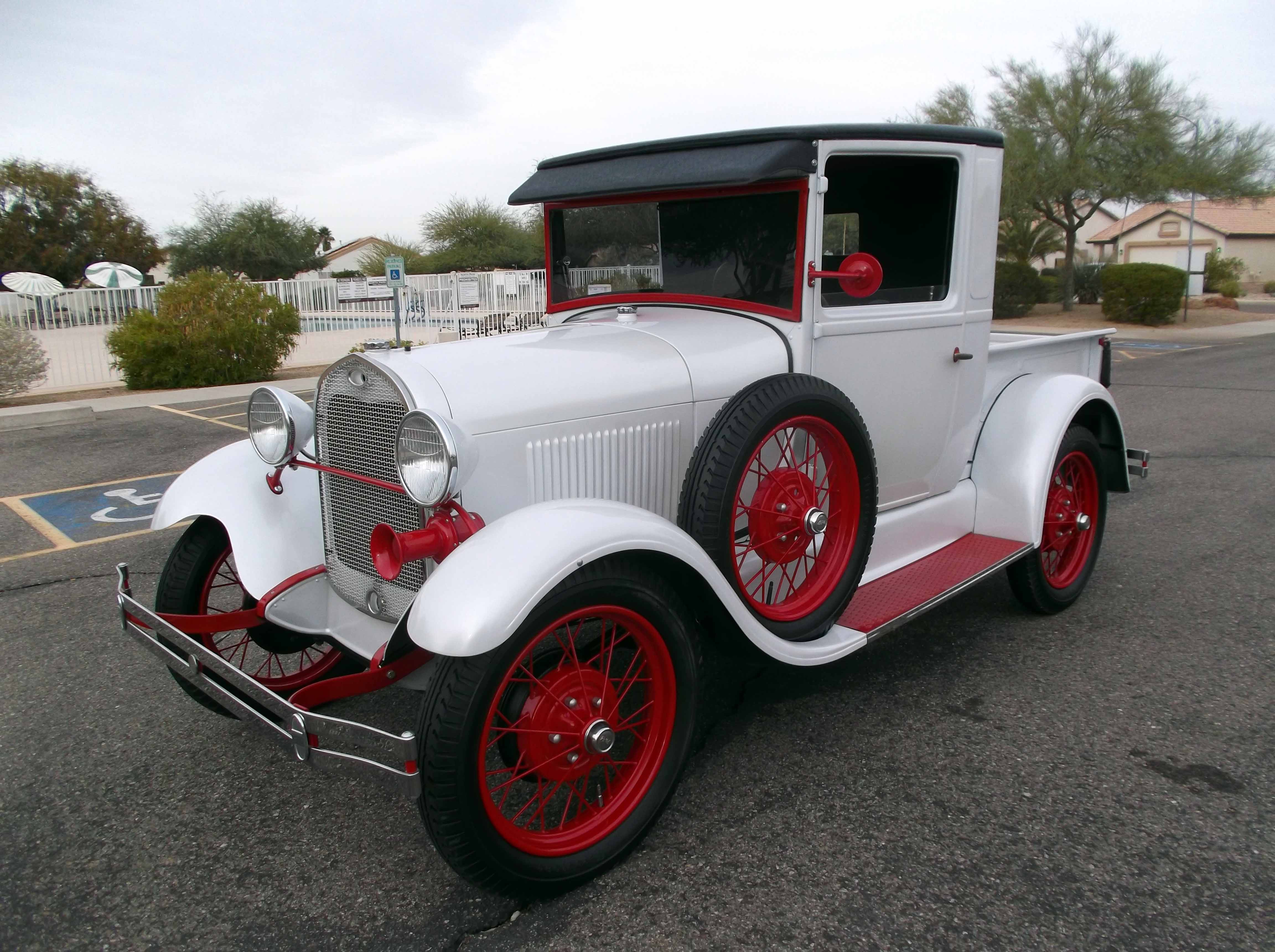 1928 Ford Model A Pick Up
