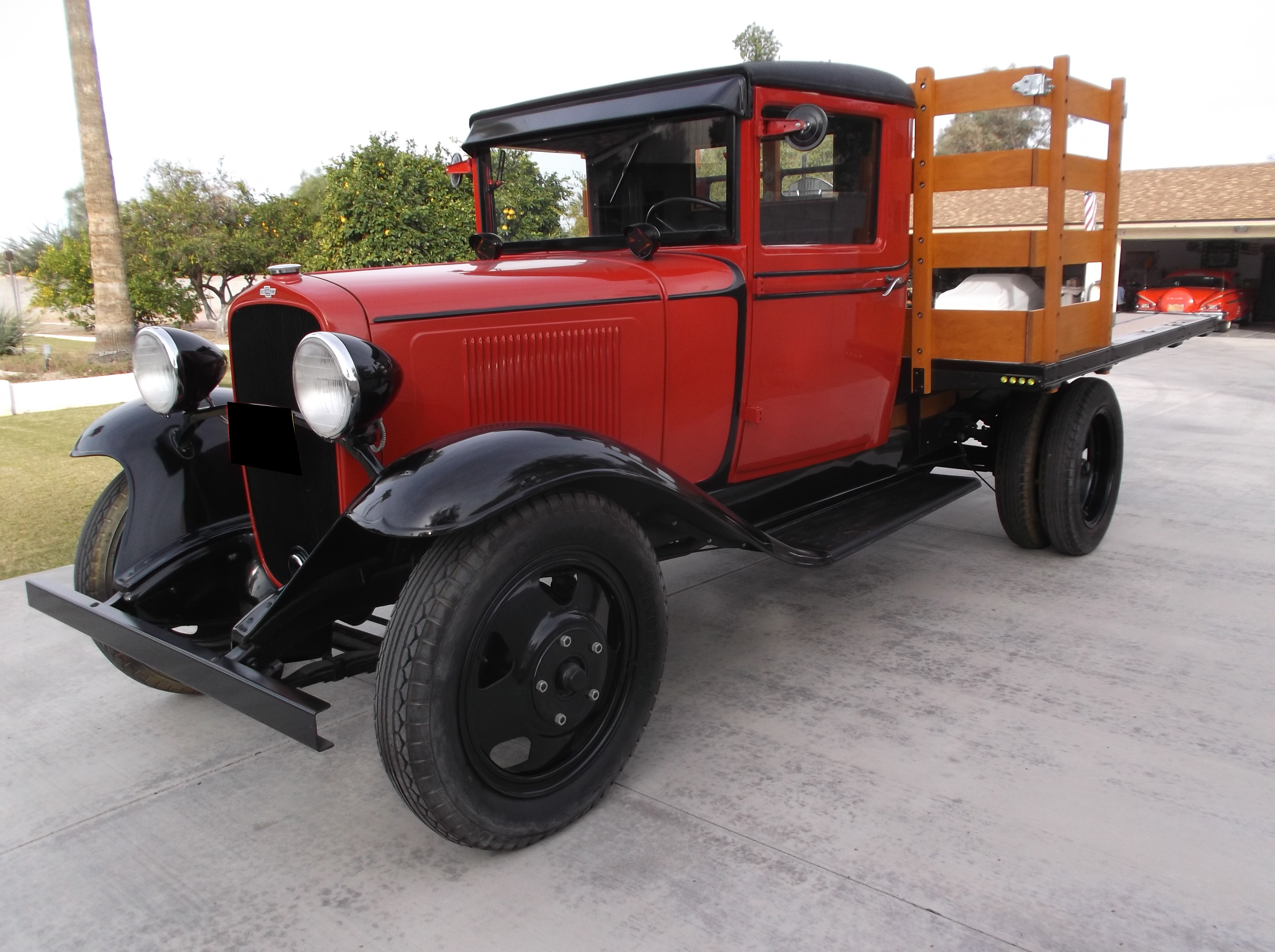 1933 Chevrolet Master 1 1/2 Ton Stakebed