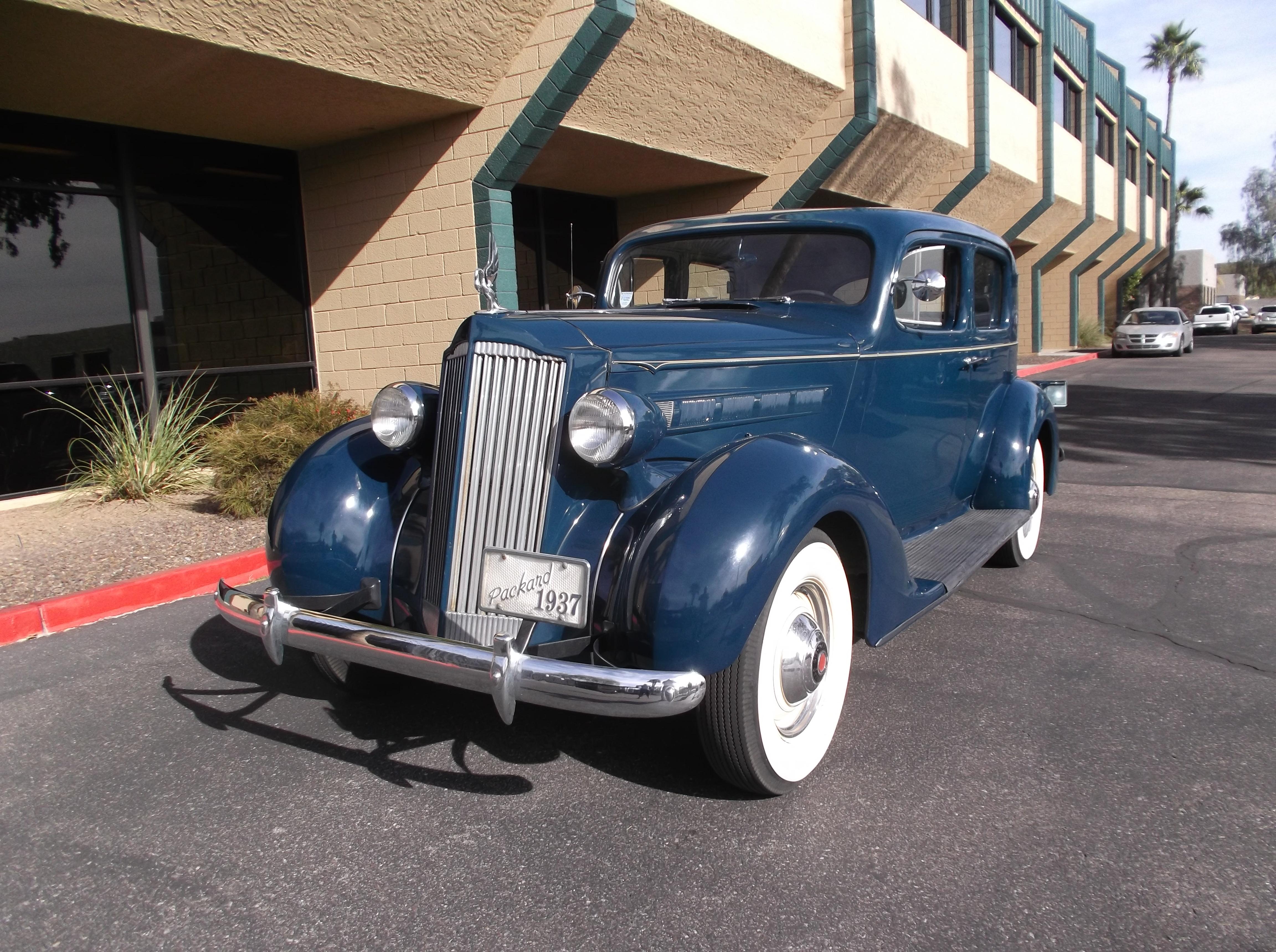 1937 Packard Six 115-C Series