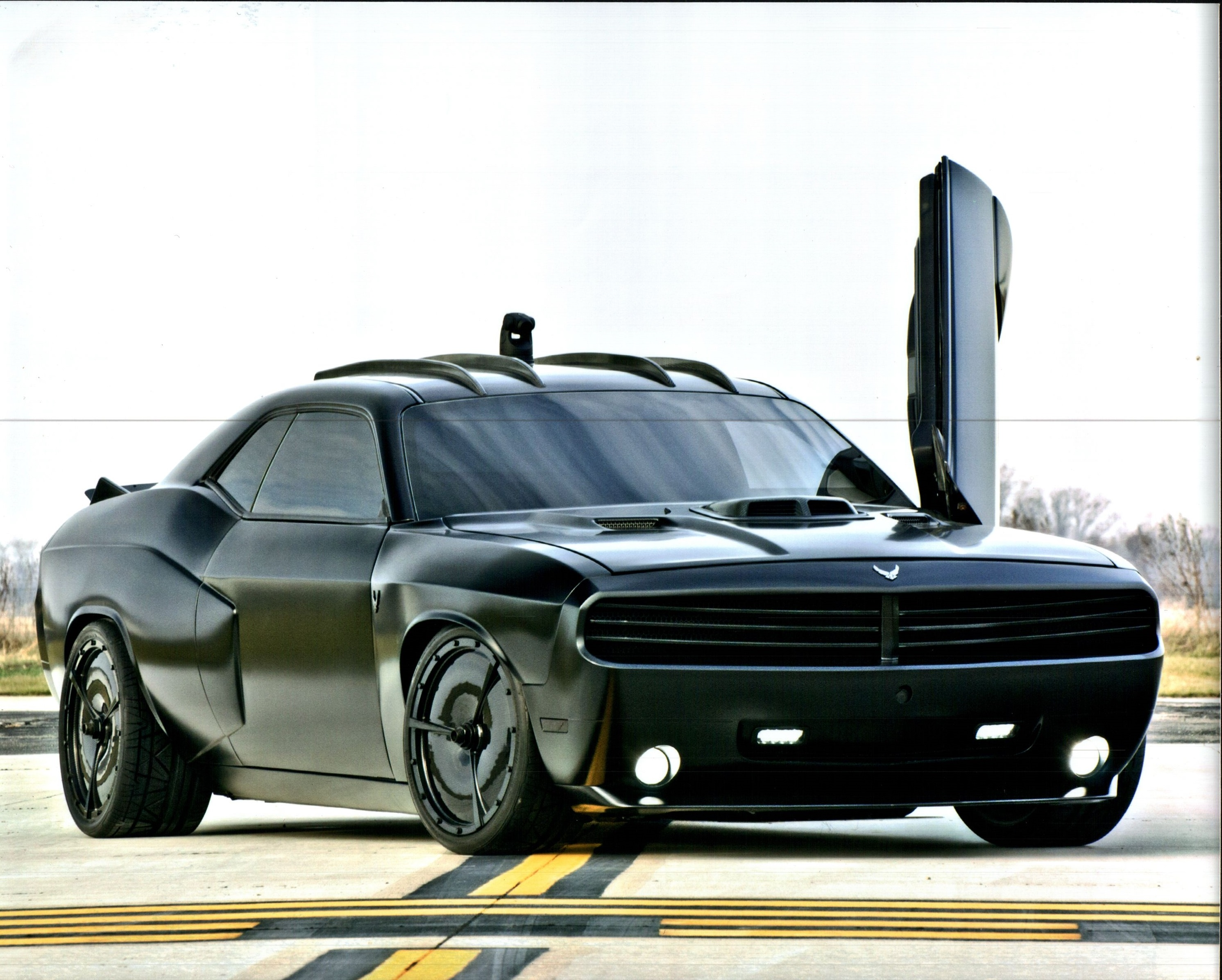 2009 Dodge Challenger Air Force Custom