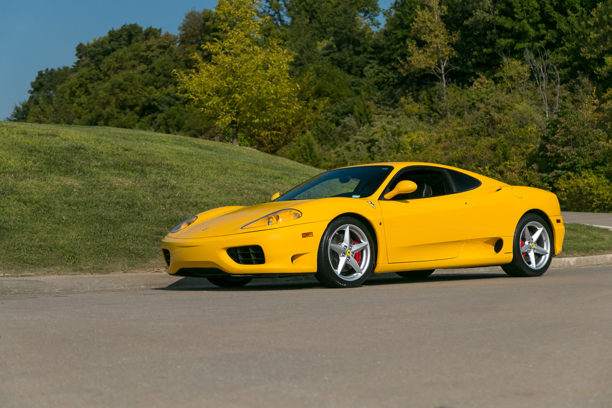 2000 Ferrari 360 Modena six speed