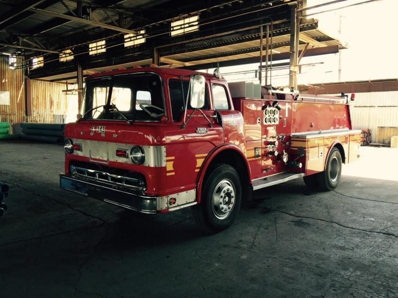 1968 Ford Boardman Firetruck