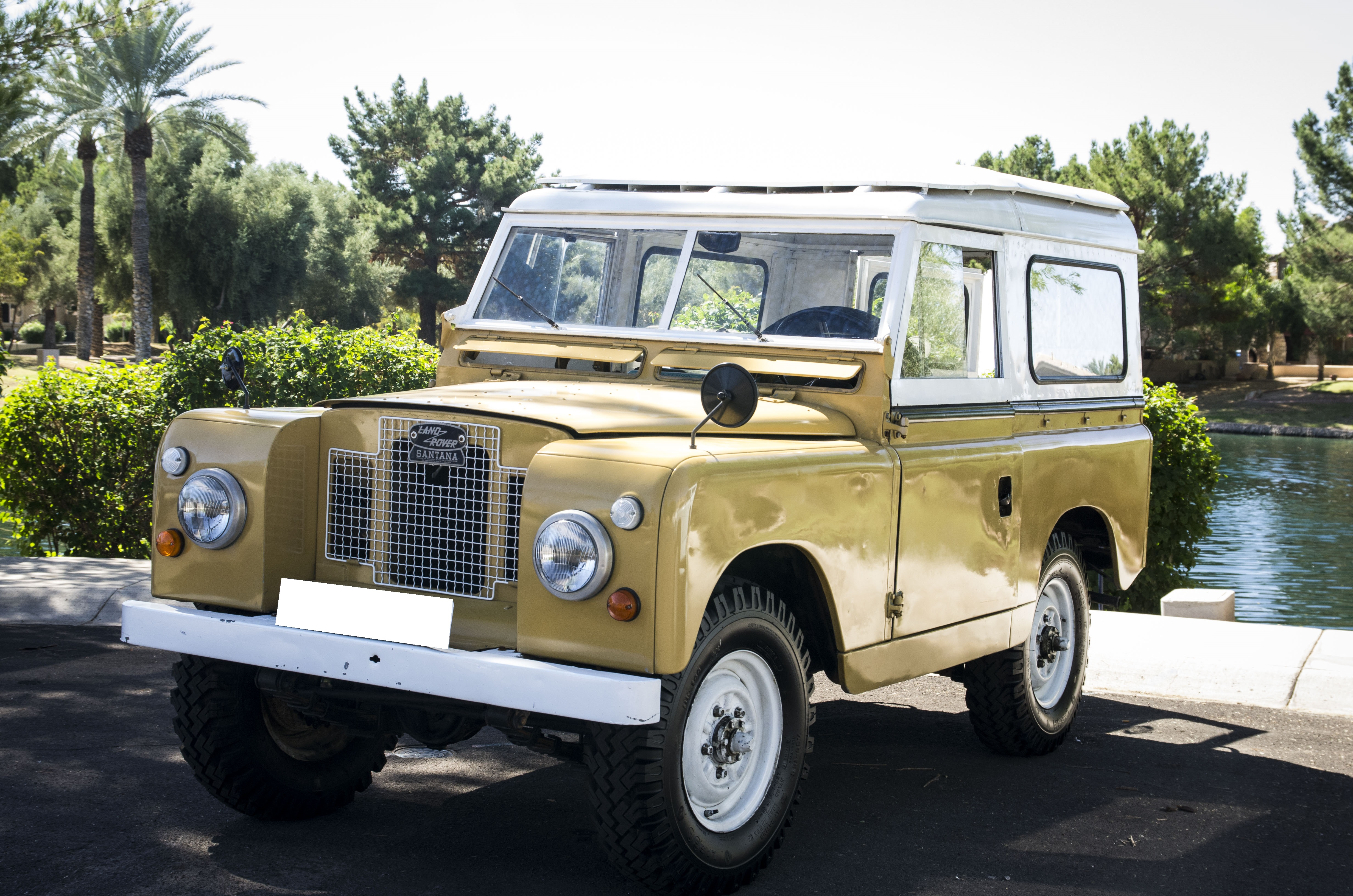 1966 Land Rover Series 2A with Hard Top