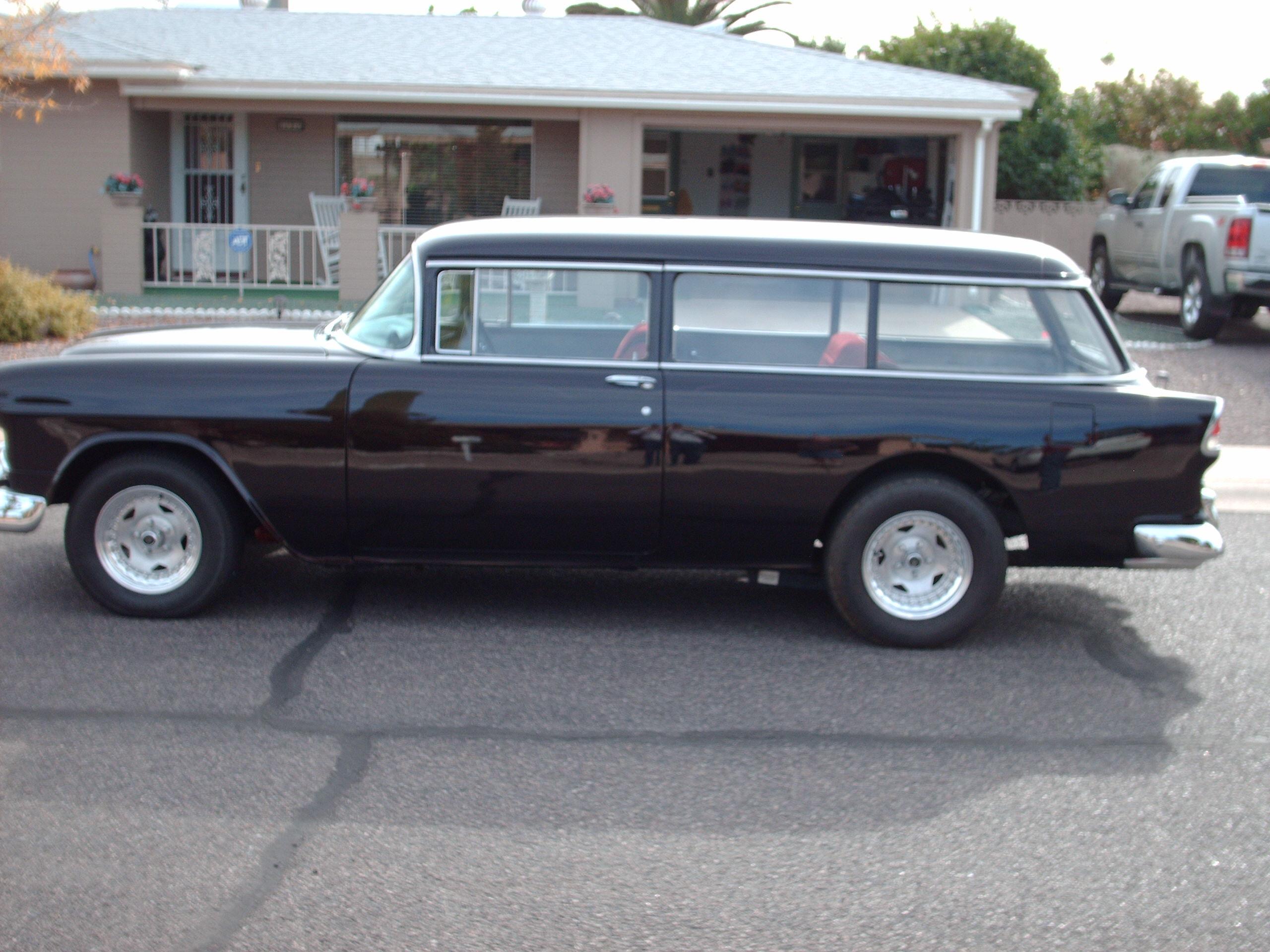 1955 Chevrolet 210  2 Door Wagon