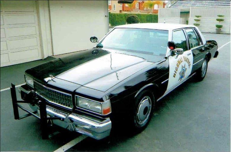 1989 Chevrolet Caprice CHP Cruiser