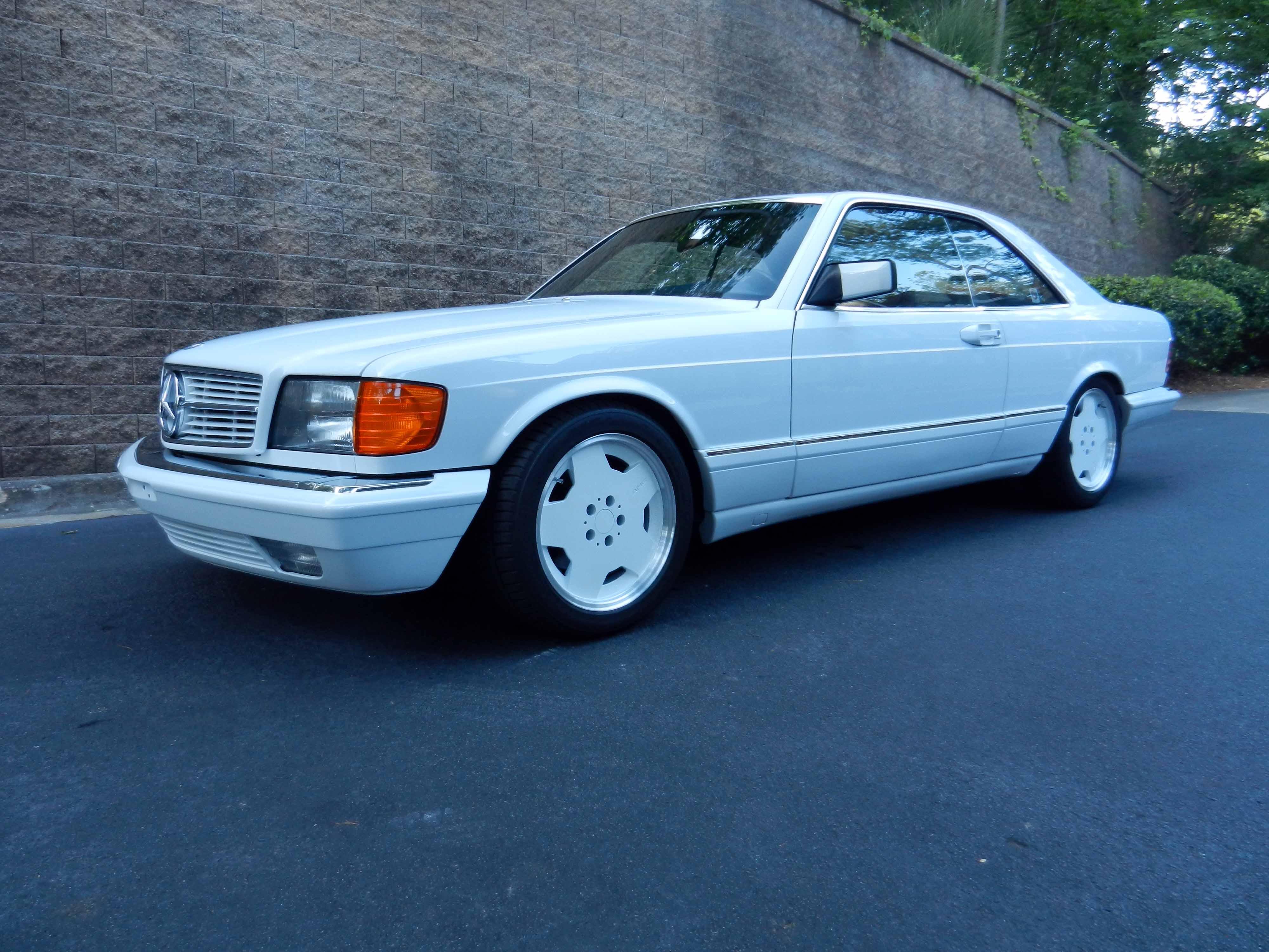 1990 Mercedes-Benz 560SEC AMG