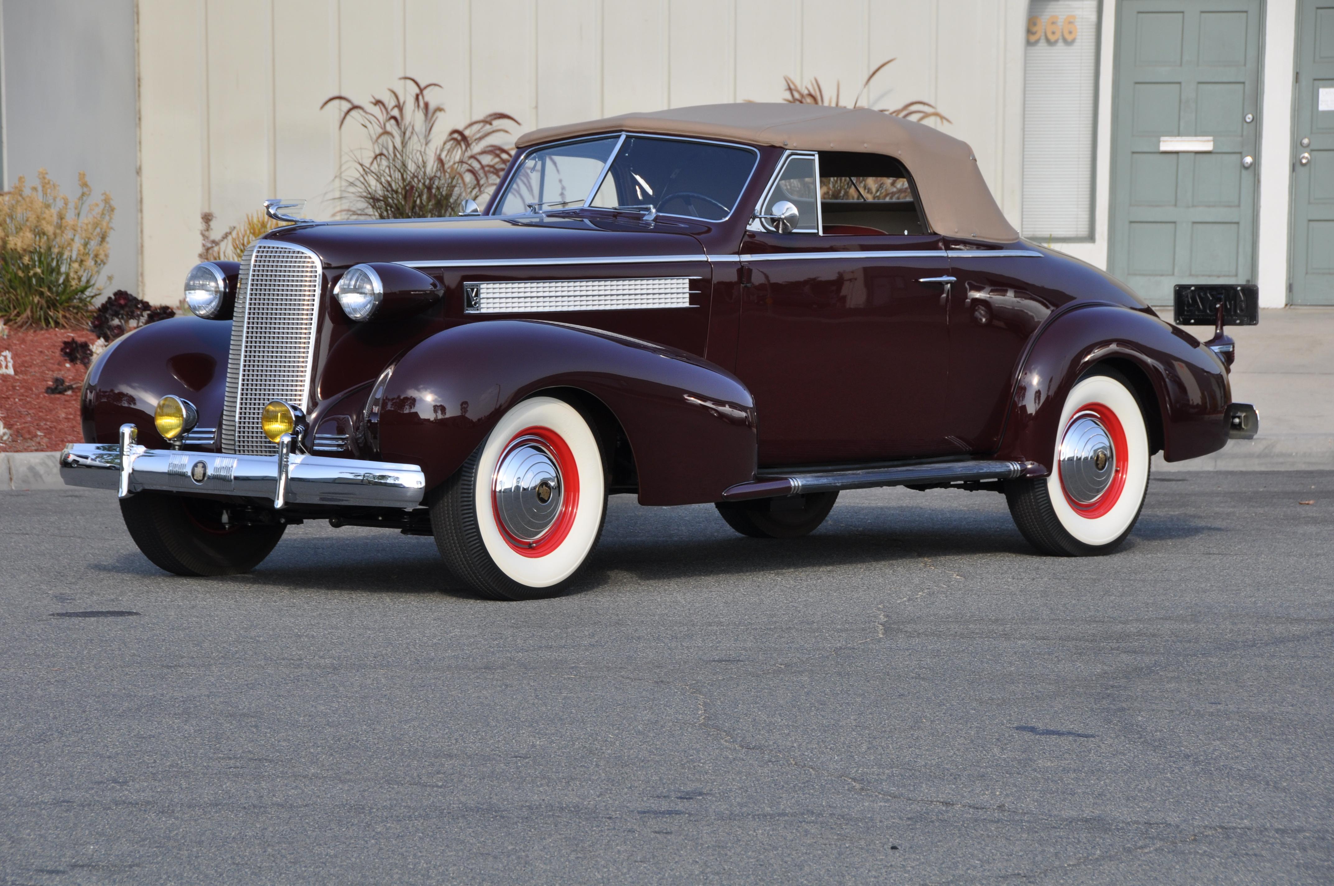1937 Cadillac Convertible - Astor Devotion Collection