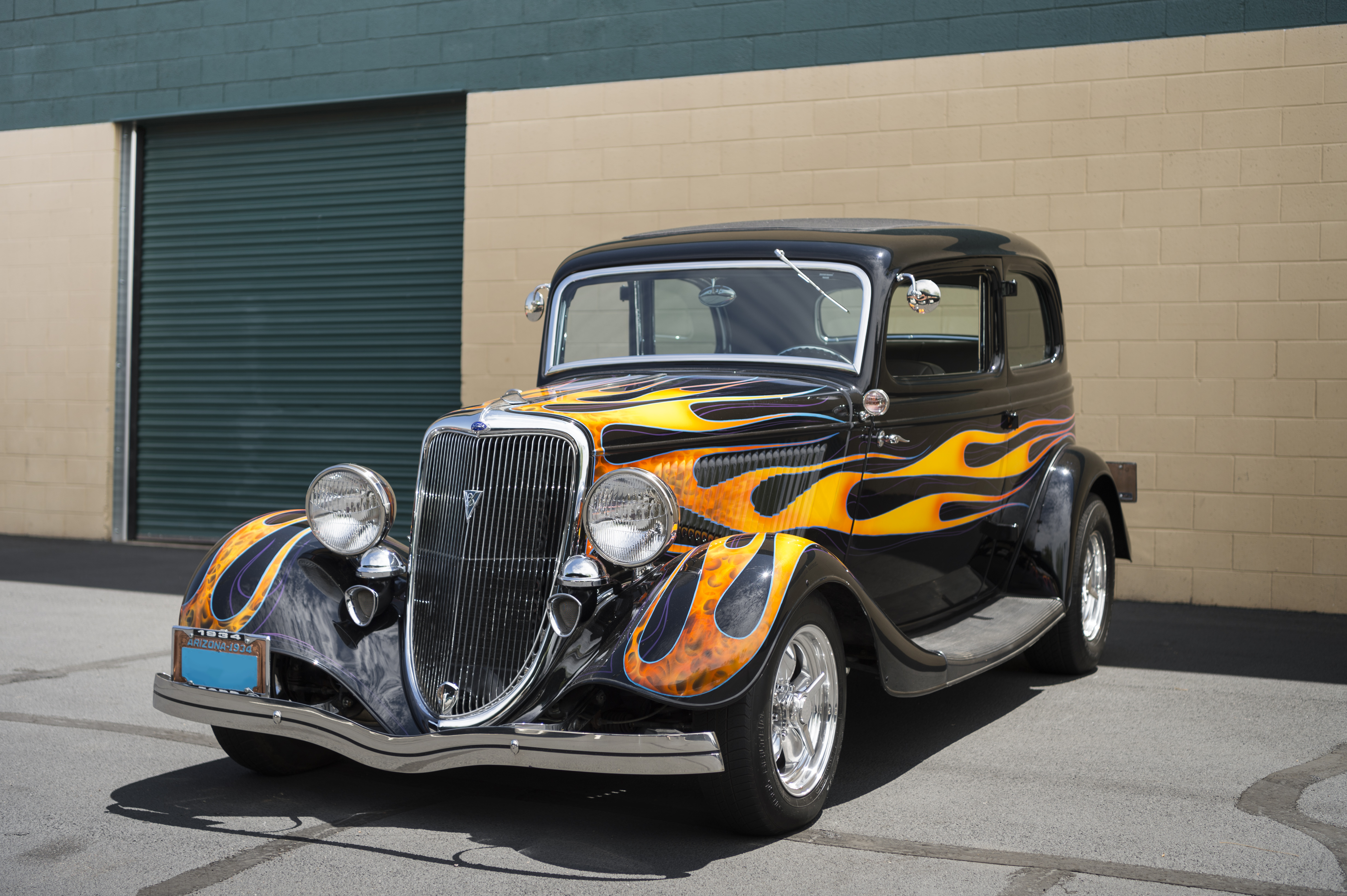 1934 Ford Victoria Deluxe