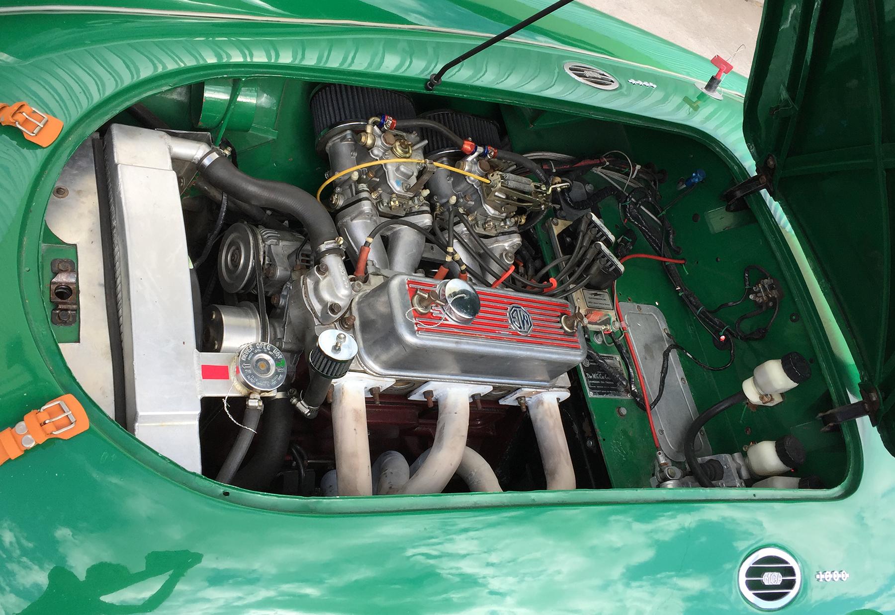1958 MG MGA Racecar