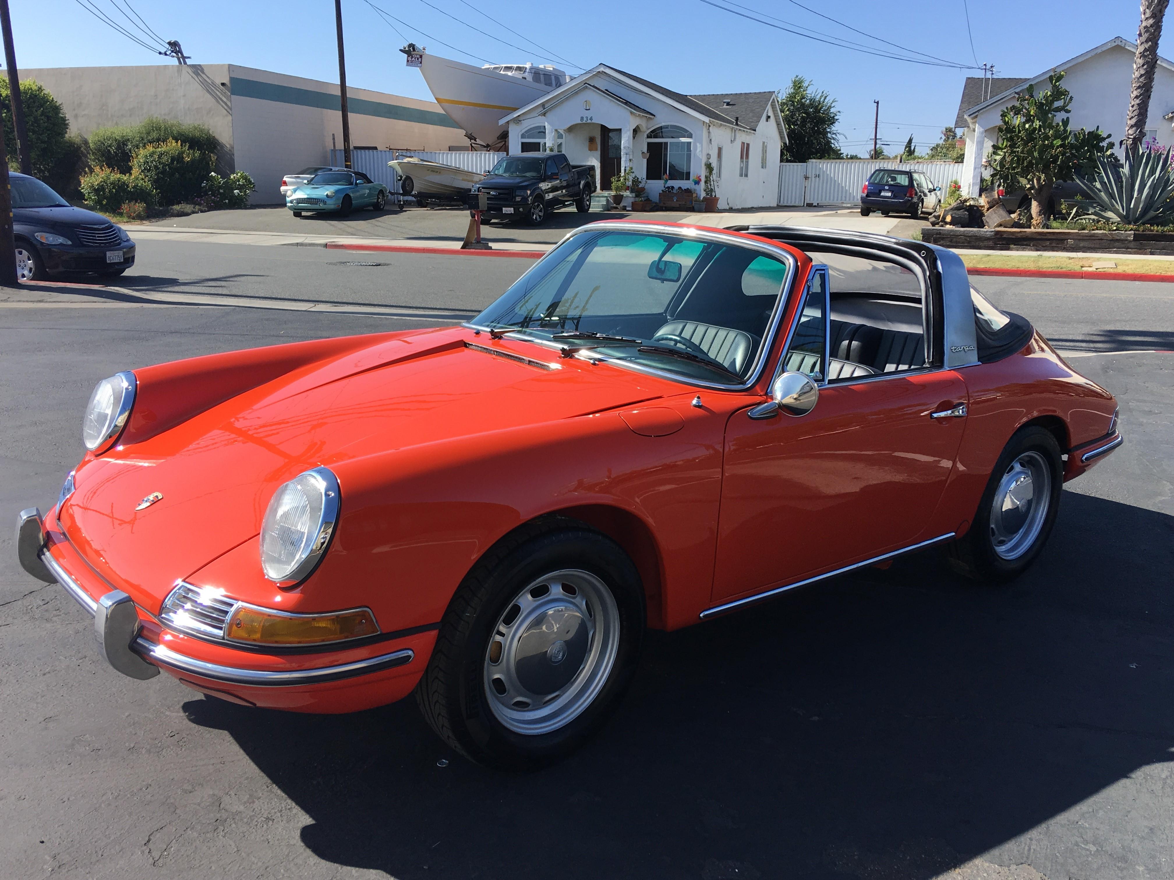 1968 Porsche 912 Soft Window