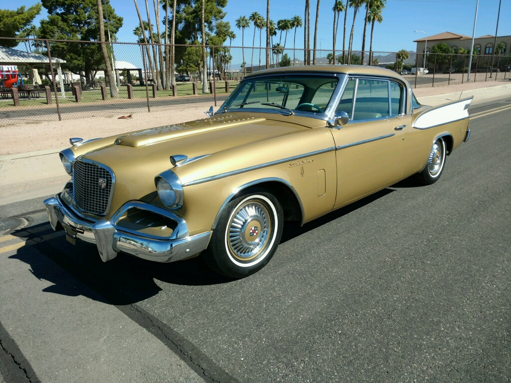1957 Studebaker Supercharged Golden Hawk