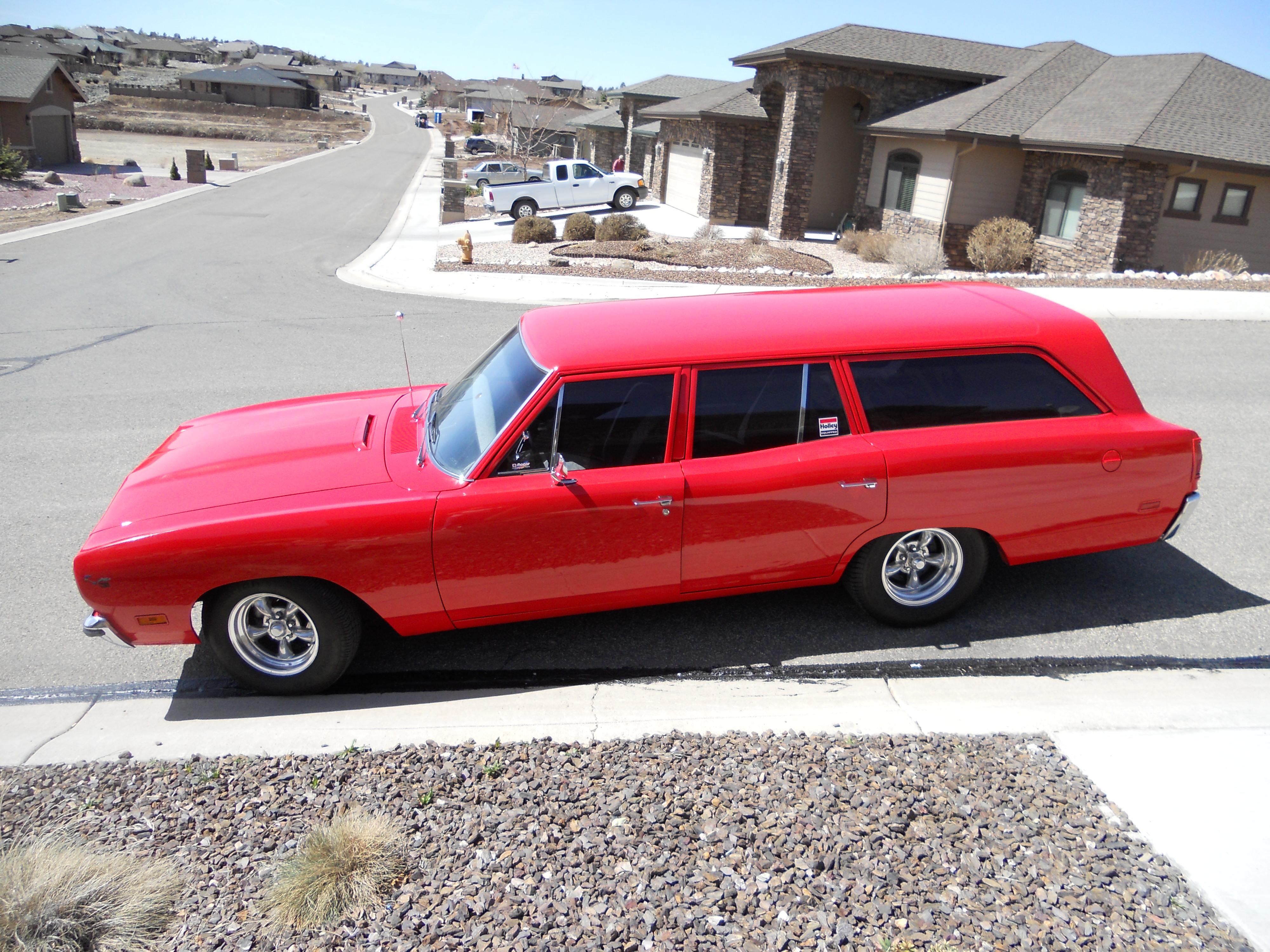1970 Plymouth Sedan Delivery