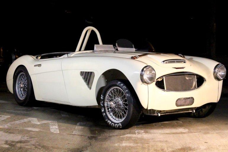 1958 Austin Healey BN6-100 White