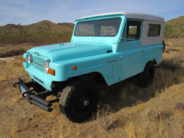 1969 Nissan Patrol 4L
