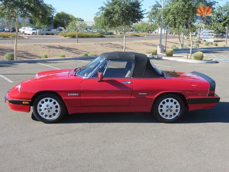 1989 Alfa Romeo Spider Quadrifolgio