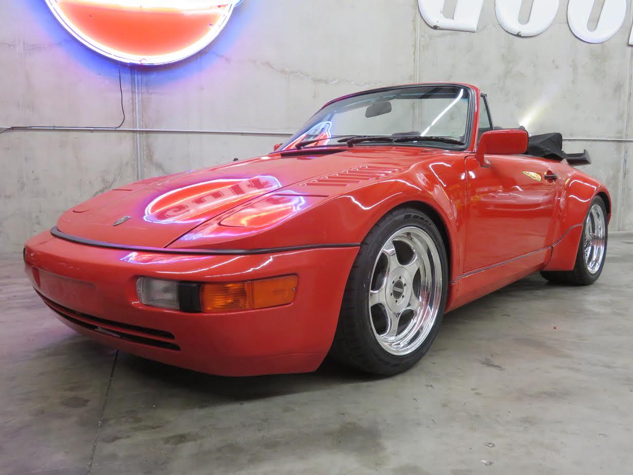 1984 Porsche 911 Turbo Conversion