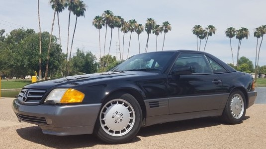 1991 Mercedes Benz 500SL
